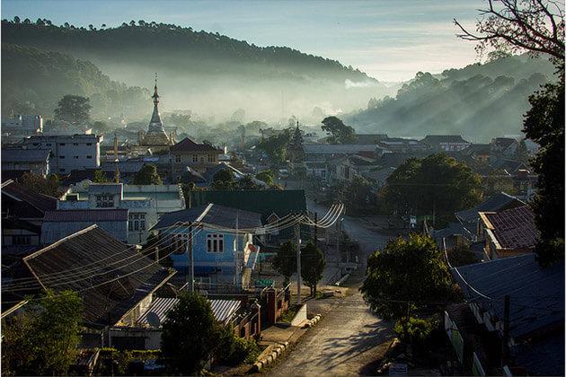 Kalaw town