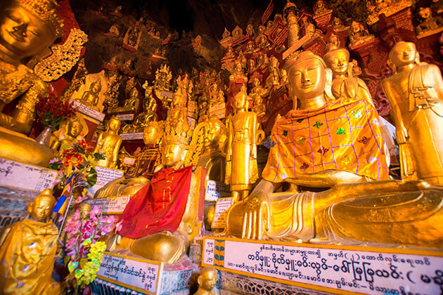 Shwe-U-Min-Natural-Cave-Pagoda-Kalaw attractions