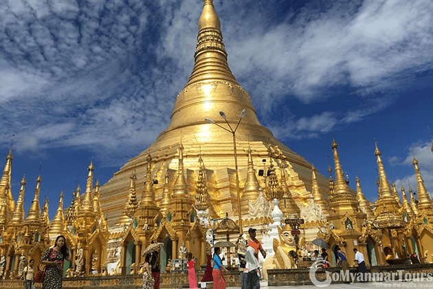 Shwedagon Pagoda - a must see destination in myanmar trips