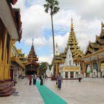 Shwedagon Pagoda - highest revered Buddhist site in Yangon