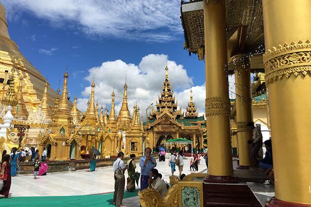 Shwedagon Pagoda-iconic beauty of Yangon