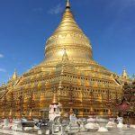 Shwezigon pagoda Bagan