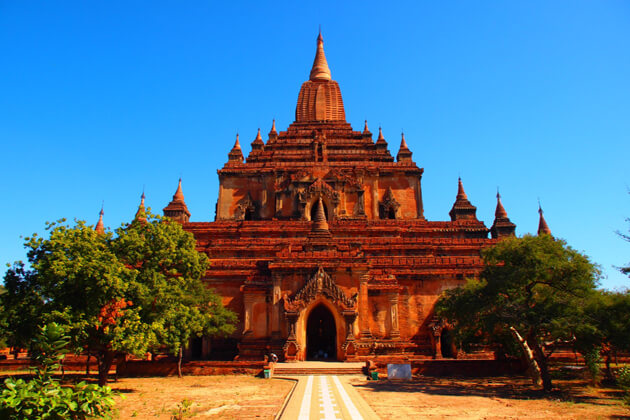 Sulamani-Temple-ideal destination to visit in bagan-tours