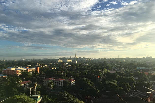 Yangon city panoramic view-Yangon tour day trip package
