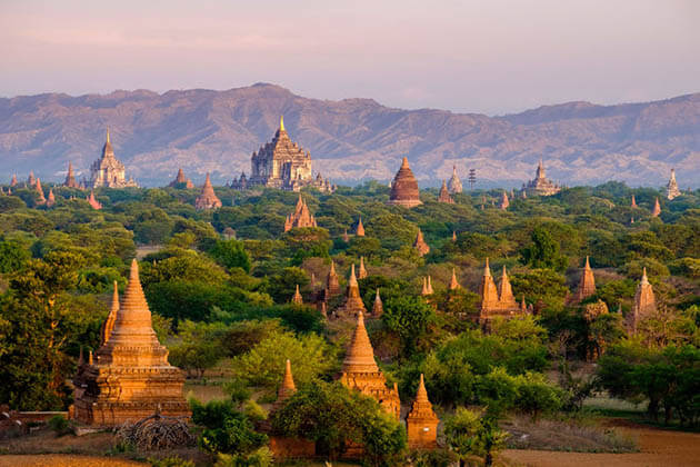 Charming Myanmar with Beach – 13 Days
