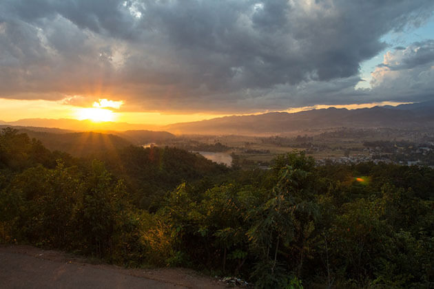 Hsipaw sunset
