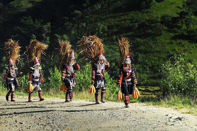 keng tung trekking-myanmar trekking tours