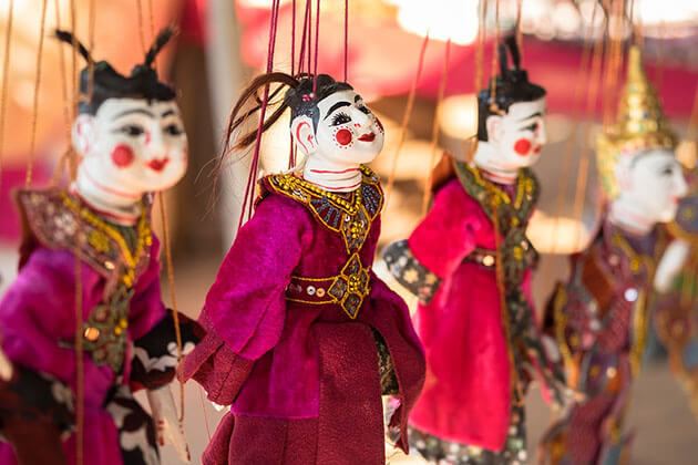 puppet in mandalay