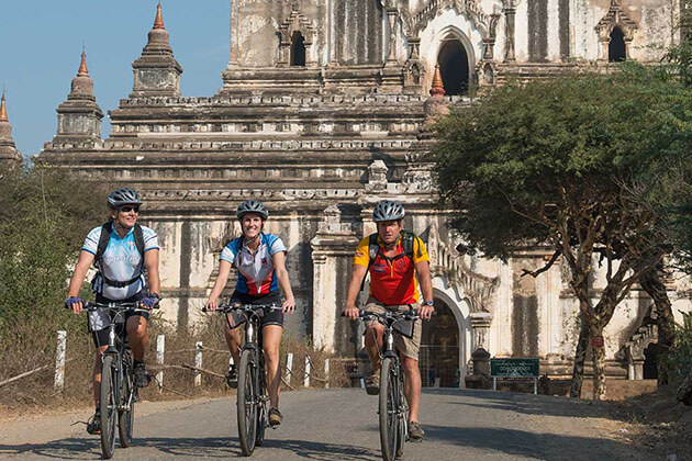 bagan biking-myanmar cycling tours