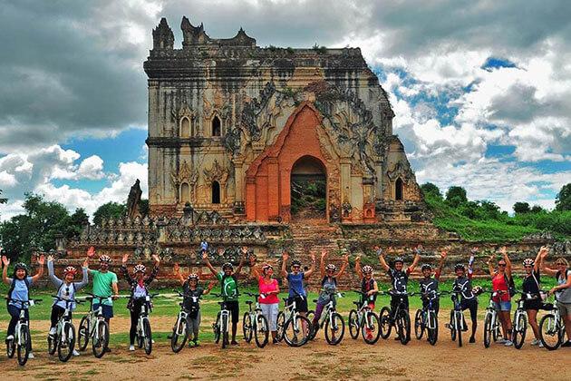 mandalay biking-burma cycling holiday