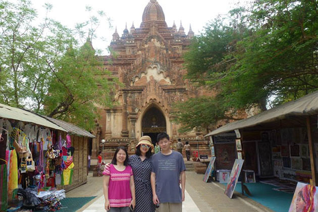 Myanmar family travel to Bagan - explore over 2200 temples and pagoda