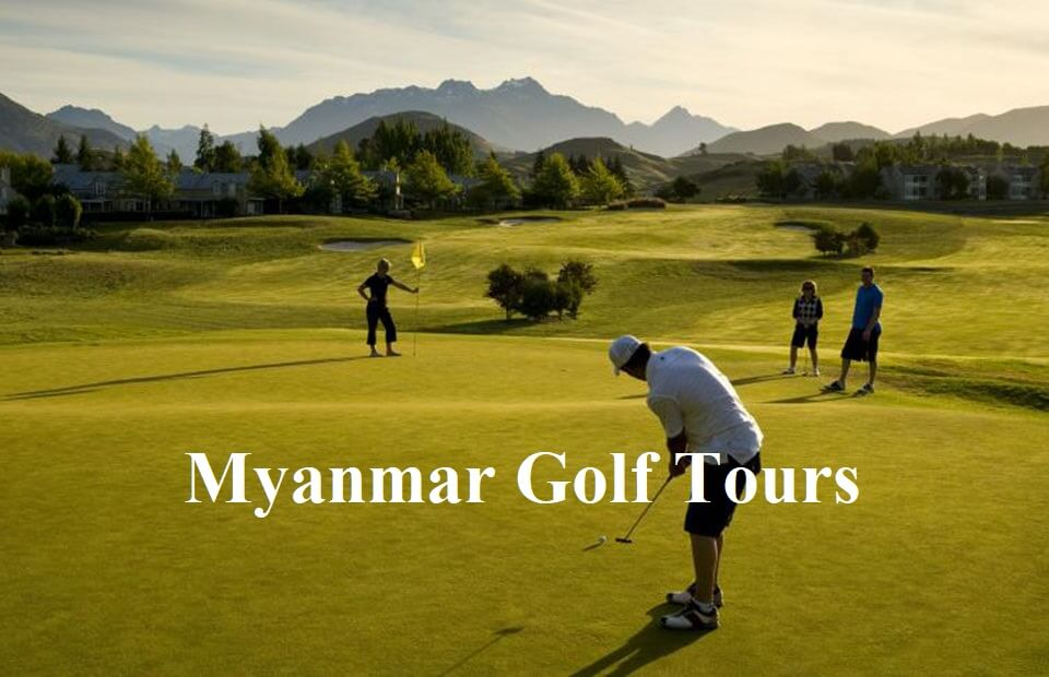 Myanmar golf tours