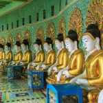 Sagaing hill - the first place to visit in Irrawaddy river crusie