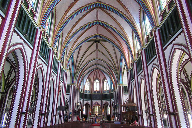St Mary's Cathedral- a beautiful landmark of Yangon