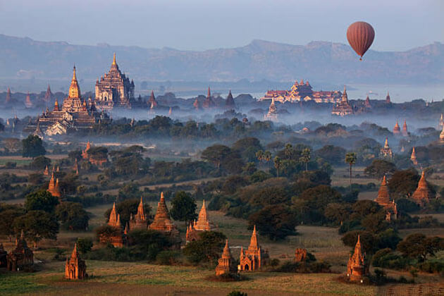 bagan - a must-see destination for Myanmar family travel