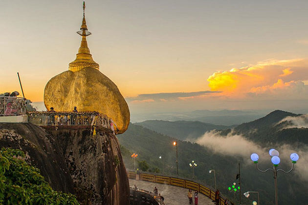 golden rock pagoda