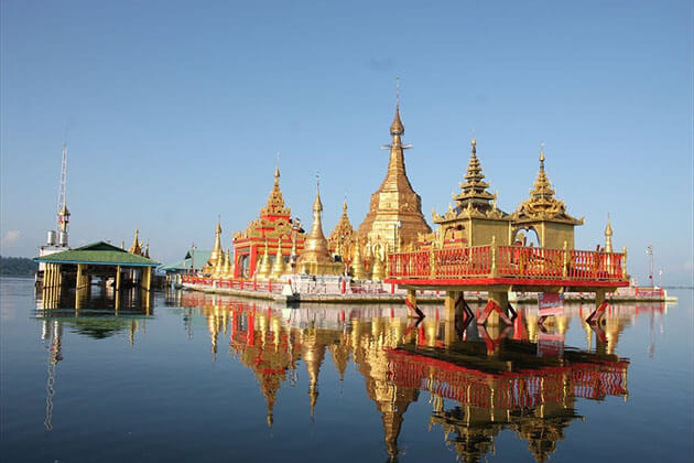 indawgyi lake - a natural spot for Myanmar family holiday