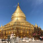 the golden stupa of Shwezigon pagoda