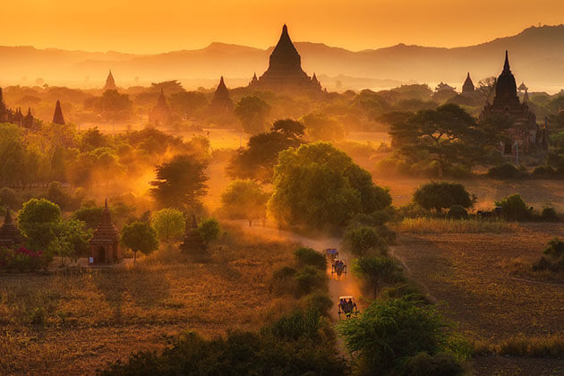 3000 temples of bagan - best places to visit in Burma trips