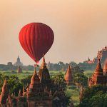 Bagan Morning Hot Air Balloon