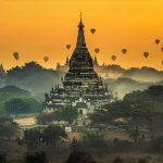 Bagan hot air balloon is an amazing experience to try in Myanmar