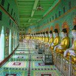 Buddha images in Soon U Ponya Shin Pagoda