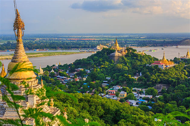 Burma tours to Sagaing Hill