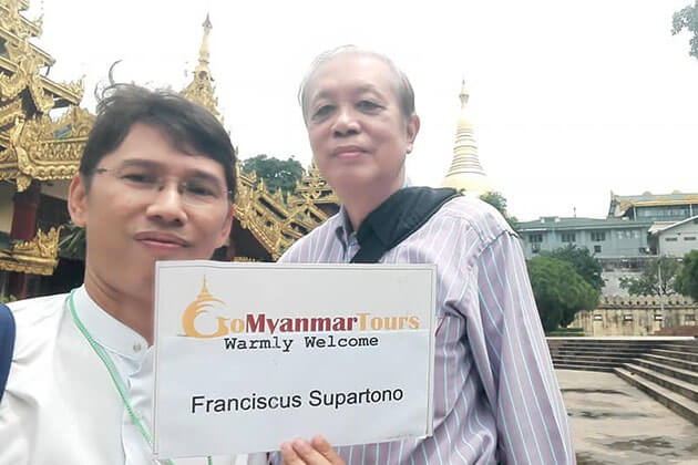 Feedback of Mr Franciscus Supartono on Yangon Tour – 3 Days
