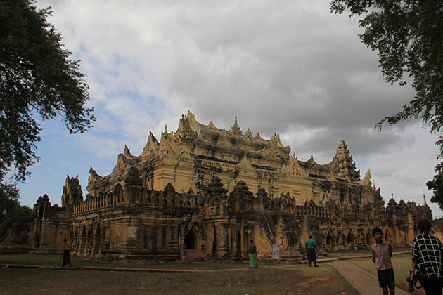 Maha aungme bonzan monastery - highlight of Ava - Mandalay tours