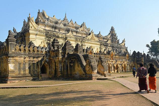 Maha aungme bonzan monastery