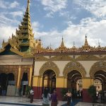 Mahamunipagoda is home to one of the most sacred Buddha images in Myanmar