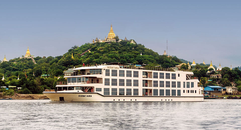 Myanmar river cruise is a breathtaking experienece to try once in a lifetime
