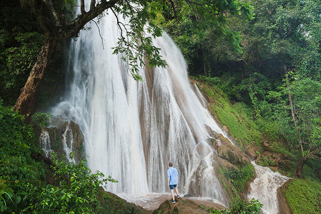 Nam Tok waterfall hsipaw