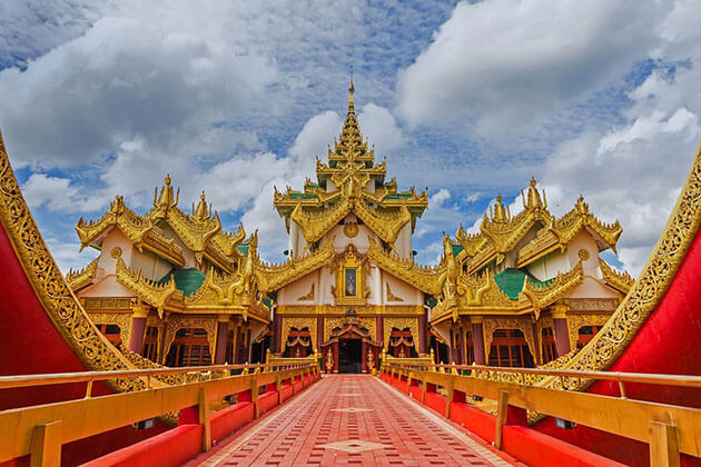 karaweik palace myanmar adventure tours