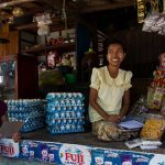 local market in Thayet Myo