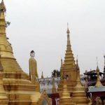 pagoda in Kyun Daw Island