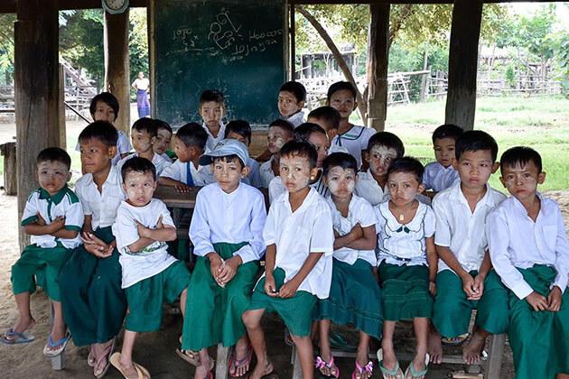 school in Sin Kyun Village