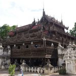 shwenandaw monastery used to be a part of the royal palace