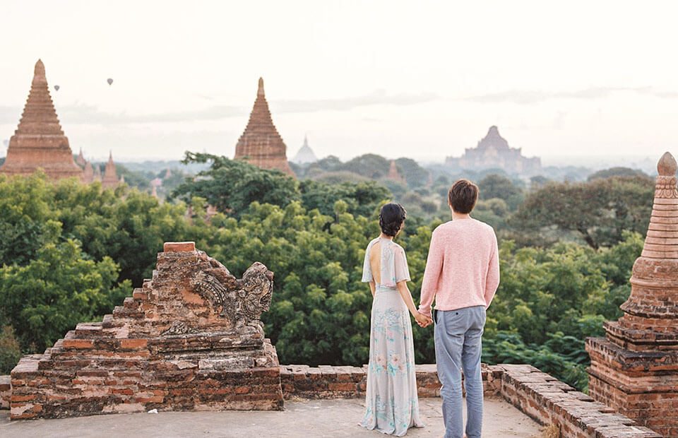 Bagan is an ideal destination for Myanmar honeymoon packages