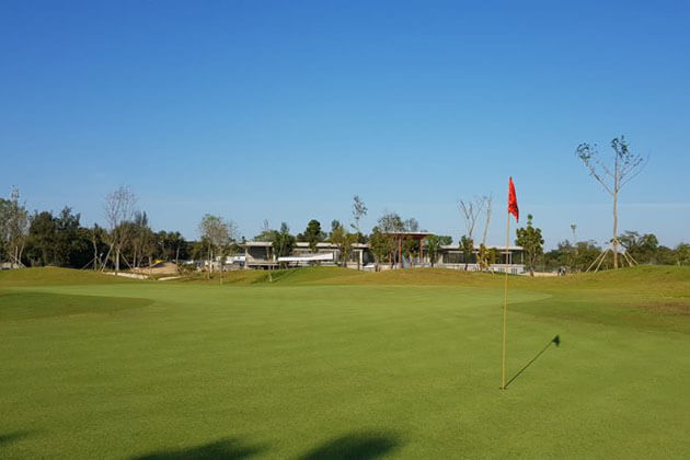 Dagon City Golf Club is one of the must play courses in Myanmar golf tours
