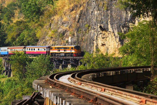 Hopping on a train crossing Goteik Viaduct is a cool thing to do in Myanmar tours 2019 2020