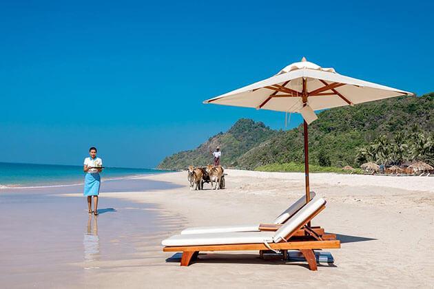 Ngapali beach - the best beach for Myanmar beach vacation