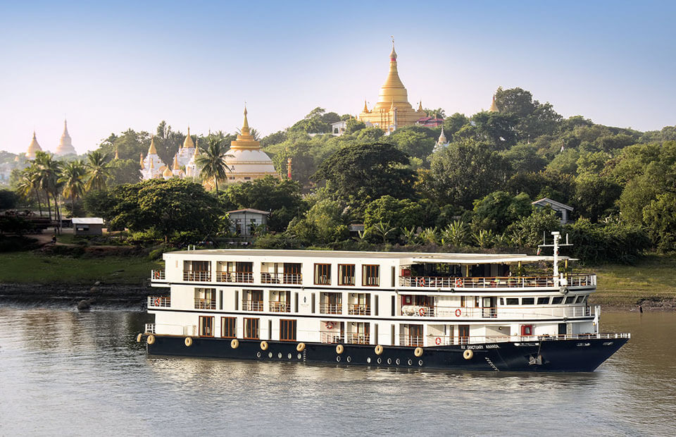 Sanctuary Ananda Cruise Ship offers a perfect taste of the local culture in luxury style