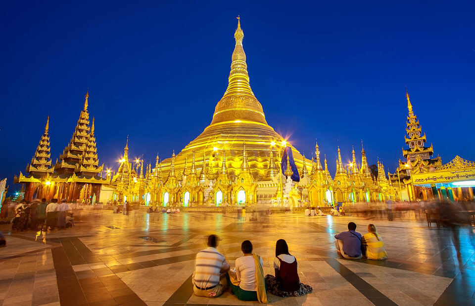 Shwedagon is the best attraction to visit in Yangon tours