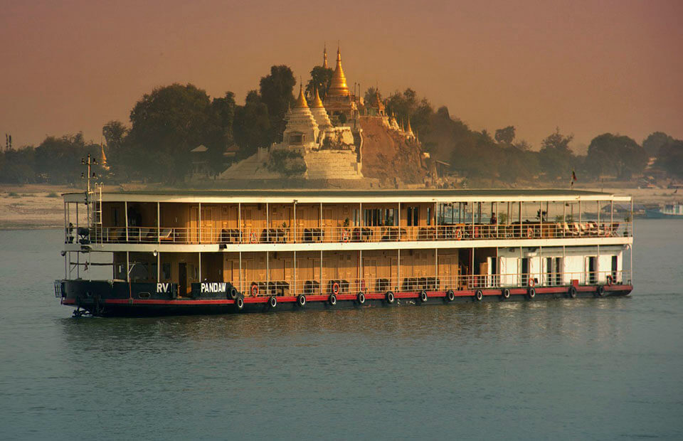 Take Myanmar river cruise with Pandaw cruise ship to enjoy luxury amenities and premium services