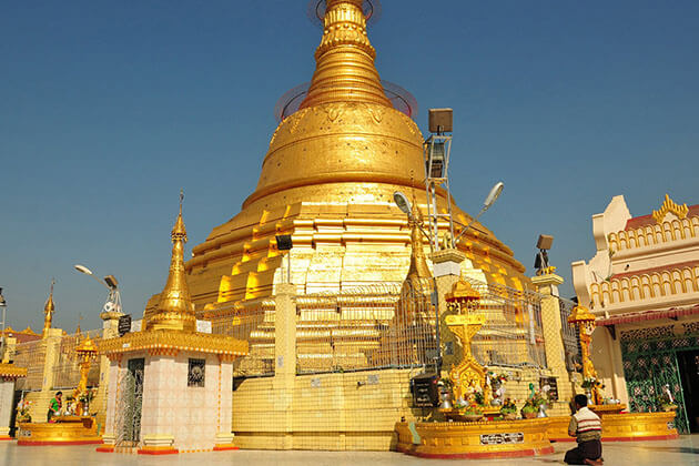Visit Botataung Pagoda in day trips from Yangon