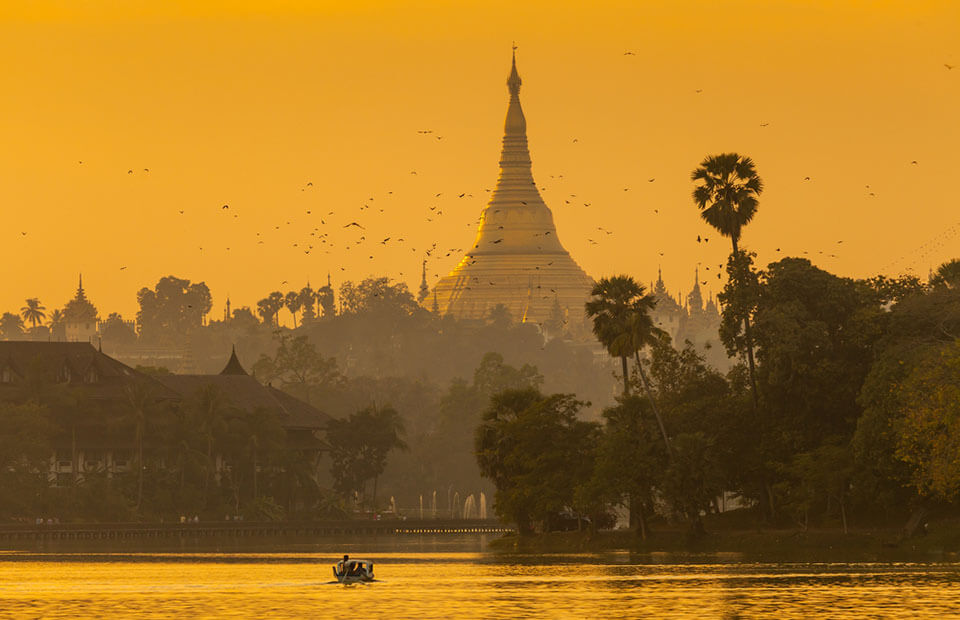 Yangon is the most famous attraction to visit in Myanmar classic tours