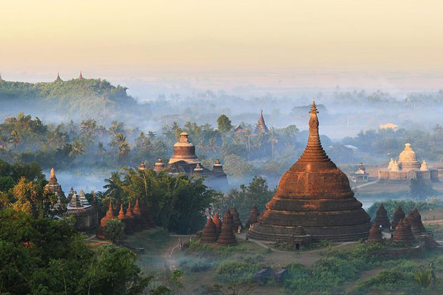 misty mrauk u from U Mya Wah Mountain