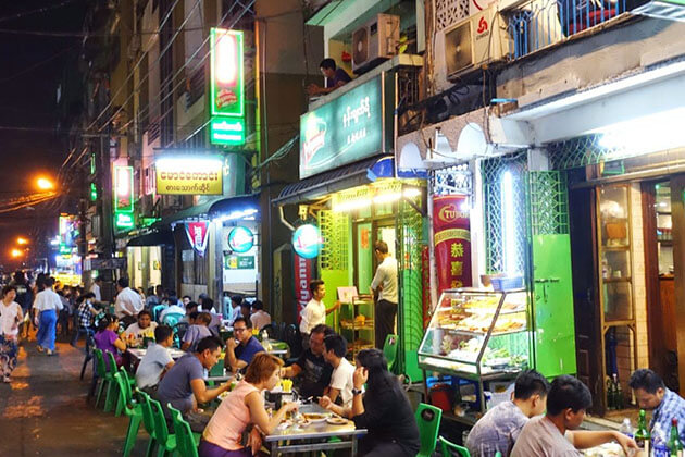 Top 10 Best Food Shops in Yangon for Night Owls