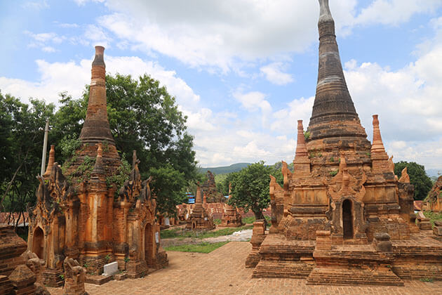 walk through thousands of ancient Stupas in Indein is a mesmerizing experience in Myanmar trip